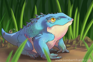Frogdragon #3 by phantos