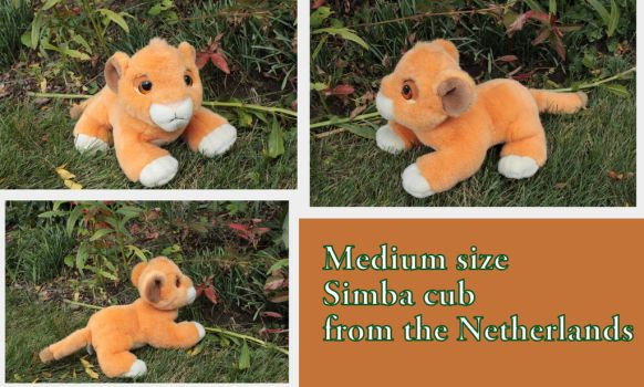Medium sized Simba cub from the Netherlands by Laurel-Lion