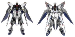 Strike Freedom Old and New by ssejllenrad2