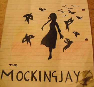 The Mockingjay---The Hunger Games by IloveCinnaandGale