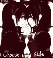 Choose your side Yuuki by KendalLee