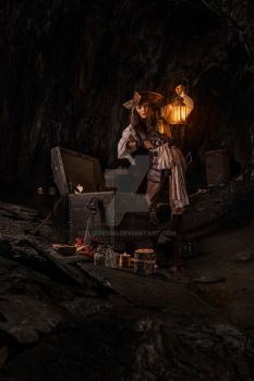 Elo Sparrow Cave by elodie50a