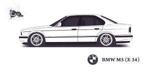 Bmw M5 E34 by TheGiLe