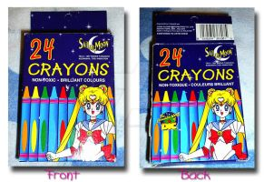 Sailor Moon Crayons by Magical-Mama