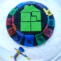 Homestuck Cake by incongruousinquiry