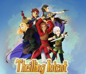 Thrilling Intent Group Picture thing by Neko265
