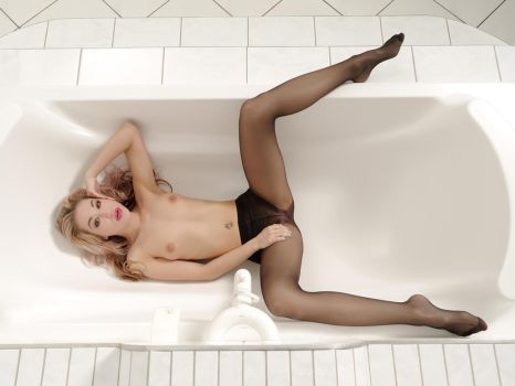 spread in the bathtub by MarcBergmann