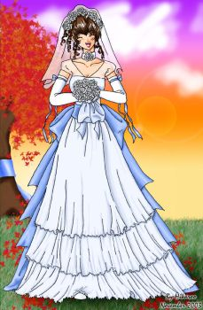 Wedding Dress Design by Hikaroo
