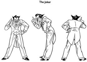 Joker Model Sheet III by Nes44Nes