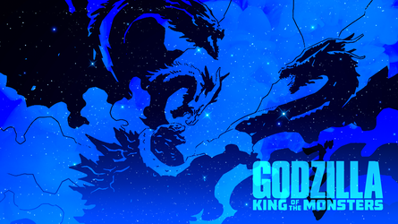 Godzilla King of the Monsters fan-made wallpapers by Awesomeness360
