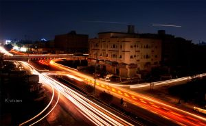 Busy Night by Khaled-vision