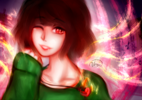 Light Chara- Undertale by Vhoii