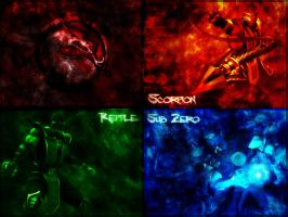 Mortal Kombat Wallpaper by Kirra241