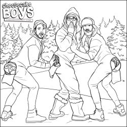 Snow Day - Cheesecake Boys Coloring Page by paulypants