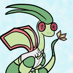 Flygon in a White Shirt