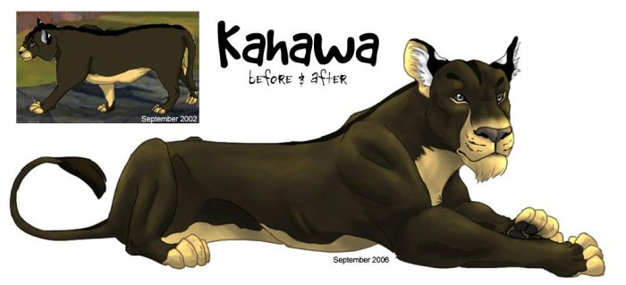 Kahawa, Before and After by stuffed