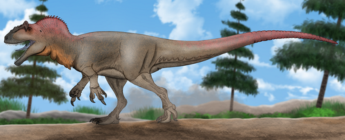 Allosaurus/Saurophaganax by Metratton