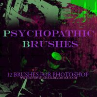 Psychopathic Brushes by Neveryph-stock