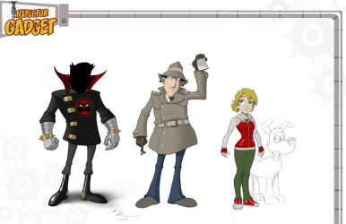 Inspector Gadget Designs by Dominic-Marco
