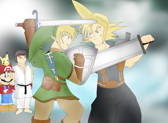 Link Vs Cloud by CristianDarkraDx2496