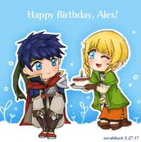 Happy Birthday, Alex! [Animated] by SoraHikarii