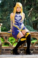 Lucy Heartfilia cosplay Eclipse arc. by LoloHime