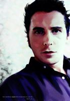 [Portrait] Christian Bale by teralilac