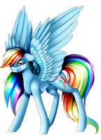 [AT] Rainbow Dash by MinElvi