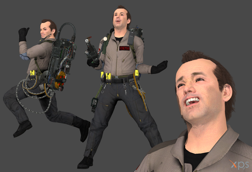 Ghostbusters The Video Game - Peter Venkman by Marcelievsky