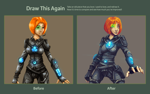 Draw This Again Challenge by DVan7