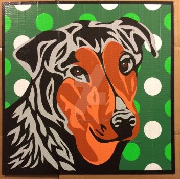 Boomer Duct Tape Art by DuctTapeDesigns