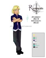 Remnants: Oz Character Sheet by Purplefire40