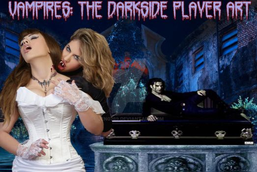 Vampires: The Darkside Player Art Cover Pic by Jen0769
