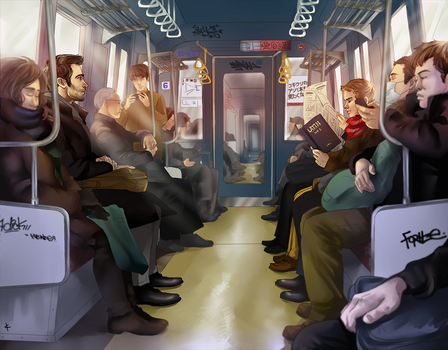Teen Wolf FanArt: Mr.Scarf and I by NinaKask