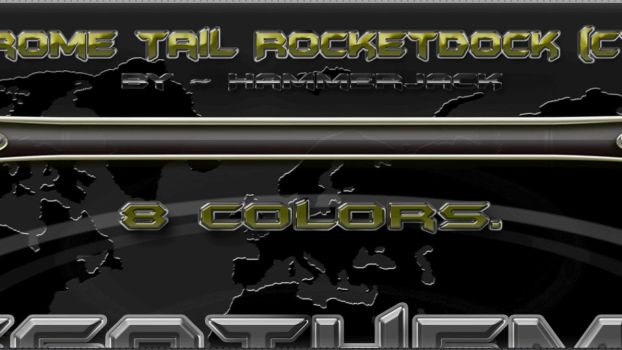 Chrome Tail Rocketdock ~ Preview ONLY by mTnHJ