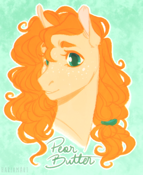 Pear Butter by HariamArt