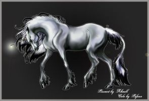 Rhealls Ooneecorn by QueenOfGoldfishes