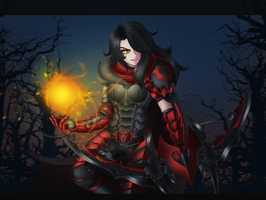 Blood Huntress Cinder by LobbyRinth
