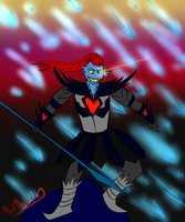Undyne The Undying by MadMalitian