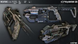 Crysis 2 K-Volt SMG by Scarlighter