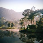 Misty Morning at Situ Gunung by thesaintdevil