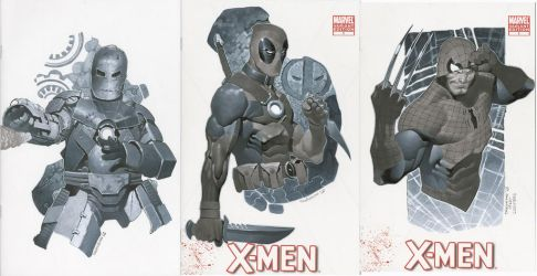 Sketch Covers 5 Thru 7 by ChristopherStevens