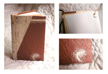 Bookbinding - Moon in Heaven by bled