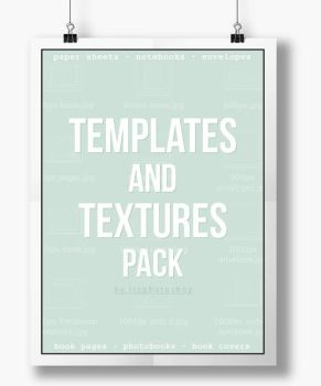textures and templates pack by itsphotoshop by itsphotoshop