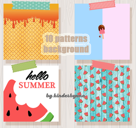 Patterns Pack #1 Summer edition by KinderByuno