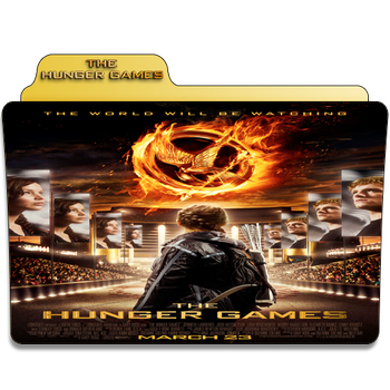 The Hunger Games 1st Movie Folder Icon by Je-Vi