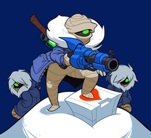 Nuclear Throne - Rebel by AngusBurgers