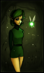 Saria - the Sage of the Forest by Xenonia