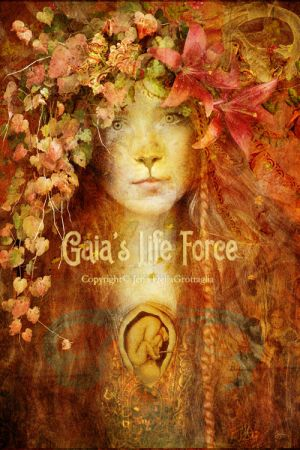 Gaia's Life Force by JenaDellaGrottaglia