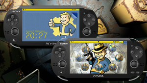 Fallout [PS Vita Custom Theme] by TrNxSLAYER